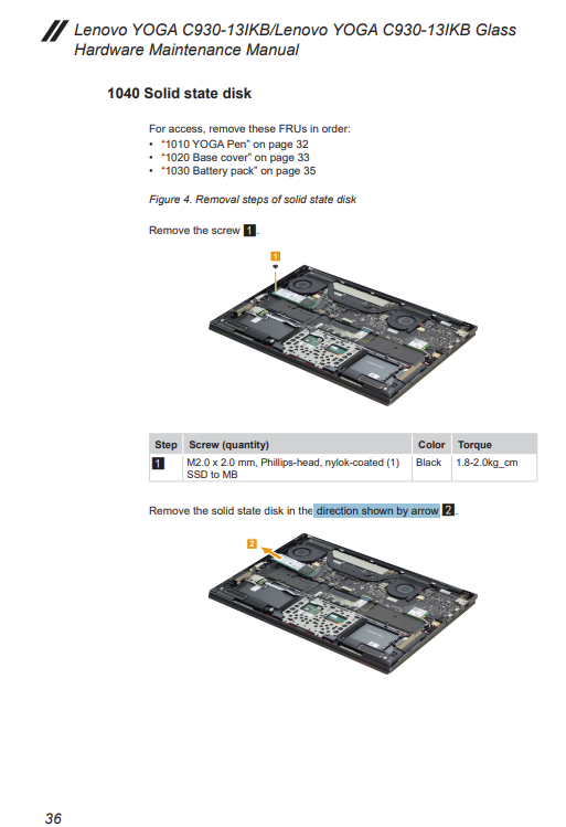 About Upgrading The Ssd Of C930 English Community
